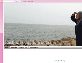 kasihaleeya.blogspot.com screenshot