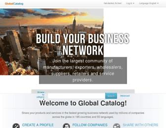 Thumbshot of Globalcatalog.com