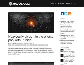 macosaudio.com screenshot
