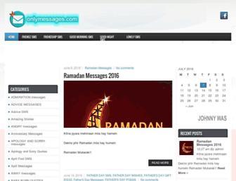 onlymessages.com screenshot