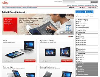 shopfujitsu.com screenshot