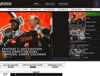 profootballfocus.com screenshot