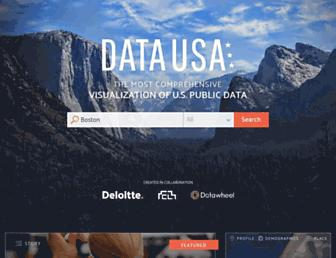 datausa.io screenshot
