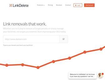 Thumbshot of Linkdelete.com