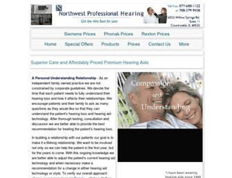 nwprohearing.com screenshot