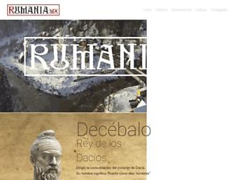 rumania.org.mx screenshot