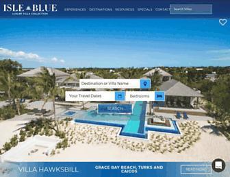 isleblue.co screenshot