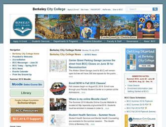 berkeleycitycollege.edu screenshot