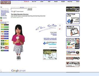 Main page screenshot of shambles.net