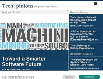 techpinions.com screenshot