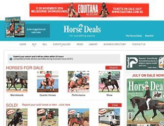 horsedeals.com.au screenshot