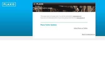 plaxis.us screenshot