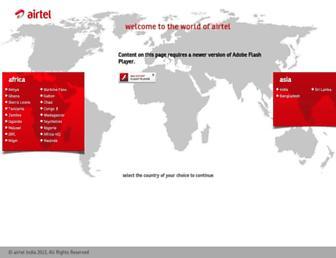 airtel.com screenshot