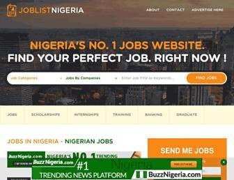 joblistnigeria.com screenshot