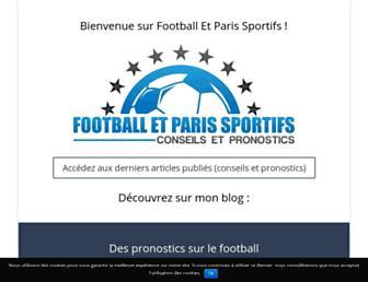 football-et-paris-sportifs.fr screenshot