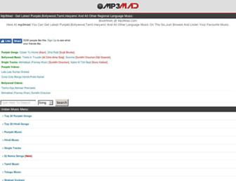 mp3madd.com screenshot