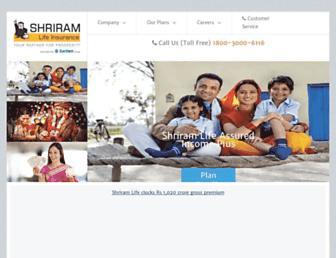 shriramlife.com screenshot