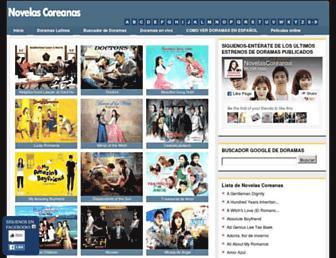 Thumbshot of Novelascoreanas.es
