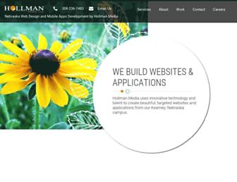 hollmanmedia.com screenshot