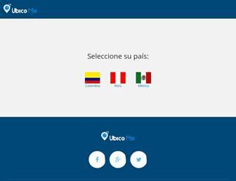 ubico.me screenshot