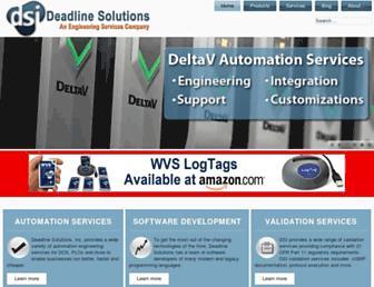 deadlinesolutions.com screenshot
