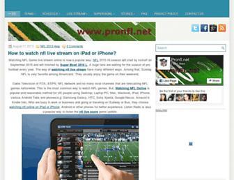 Thumbshot of Pronfl.net