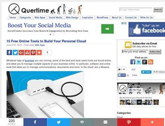 quertime.com screenshot