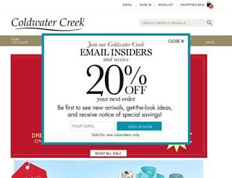 Thumbshot of Coldwatercreek.com