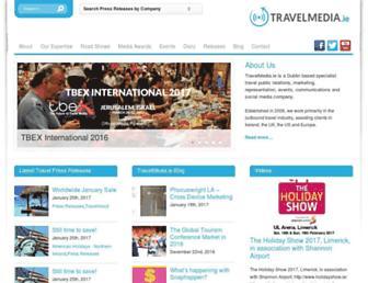 travelmedia.ie screenshot