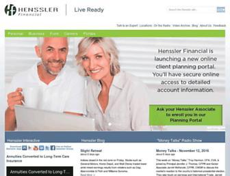henssler.com screenshot