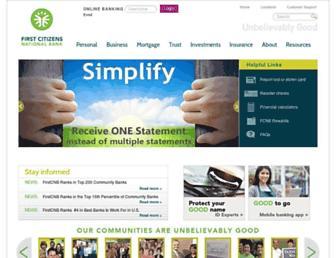 Thumbshot of Firstcitizens-bank.com