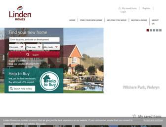 lindenhomes.co.uk screenshot