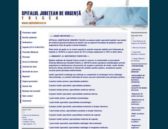 spitaltulcea.ro screenshot