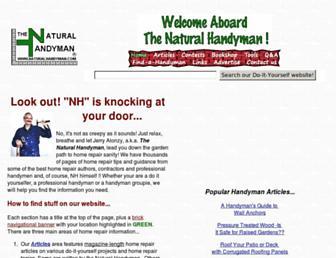 naturalhandyman.com screenshot