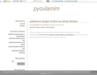 bemuc.eklablog.com screenshot