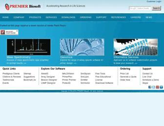 premierbiosoft.com screenshot