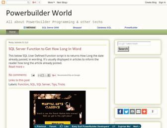 powerbuilderworld.blogspot.com screenshot