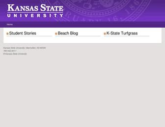 blogs.k-state.edu screenshot