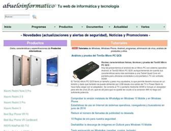 abueloinformatico.es screenshot