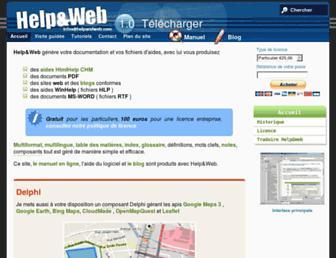 helpandweb.com screenshot