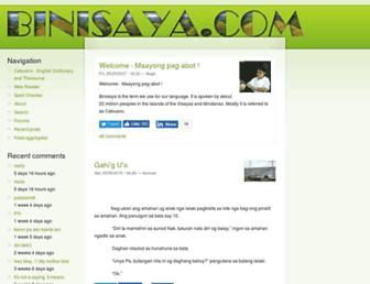 binisaya.com screenshot