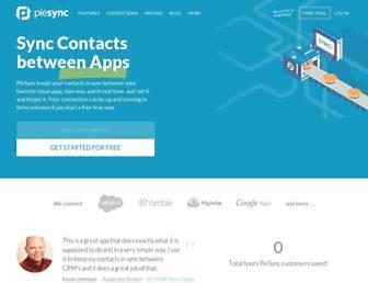 piesync.com screenshot