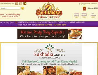 sukhadia.com screenshot