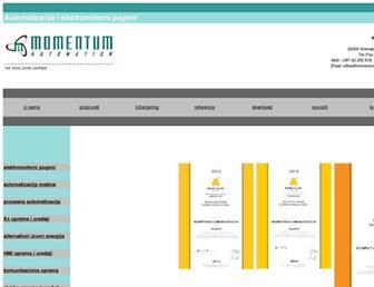 momentum-automation.com screenshot