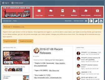 1emulation.com screenshot