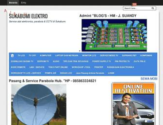 sukabumielektro.blogspot.com screenshot