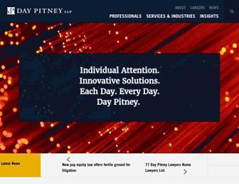 daypitney.com screenshot
