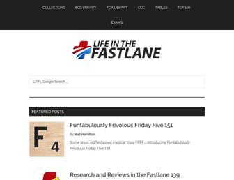 Thumbshot of Lifeinthefastlane.com