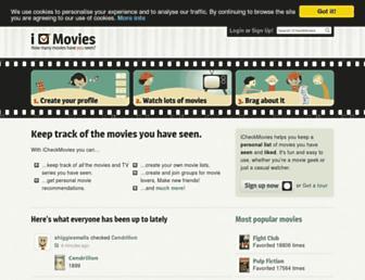 Thumbshot of Icheckmovies.com