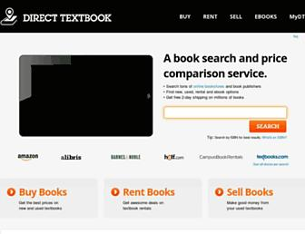Thumbshot of Directtextbook.com